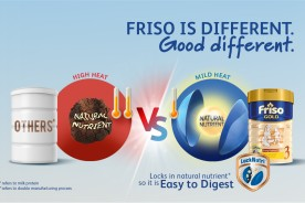 Friso is different. Good Different